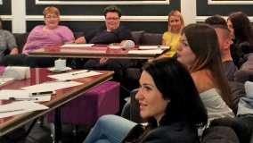 Фото с семинара Надежды Бабаевой